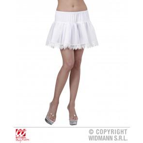 petticoat wit met franje