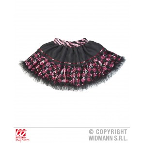 tutu pailletten zwart/Roze