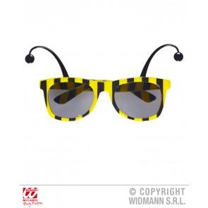 bril, bij met antennes