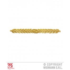 laurierblad goud hoofdband