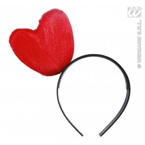 hoofdband hart, rood