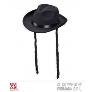 hoed rabbijn met haar