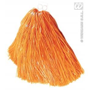 pom pom, luxe uitvoering oranje