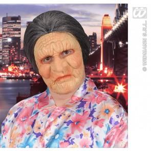 halfgezichtmasker oude vrouw