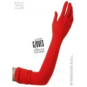 handschoenen lycra, rood