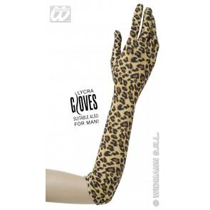 handschoenen luipaard 42cm