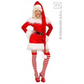 kerstmanmuts extra lang, 150cm