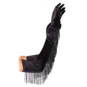 Satin Opera Length Gloves