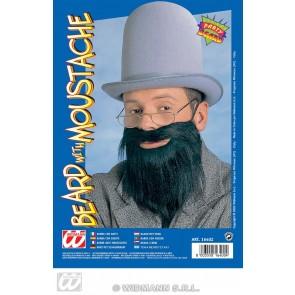 baard met snor