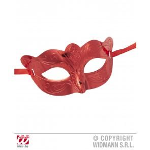 oogmasker metalic rood