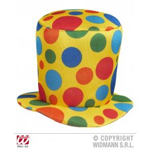 hoge hoed clown