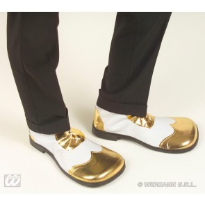 party schoenen wit/goud