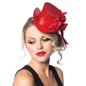 Satin Top Hat Flower