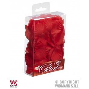 doos met 150 rode roosbladeren