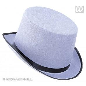 hoge hoed vilt, grijs