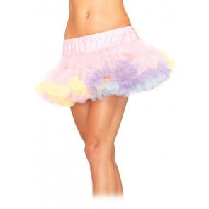 Mini Tulle Trimmed Petticoat