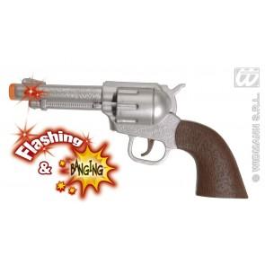 cowboy geweer met licht en geluid