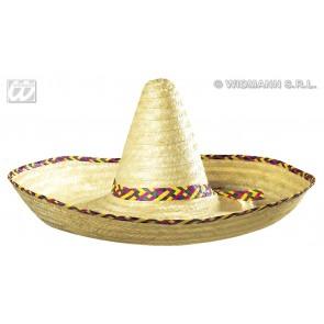 grote sombrero blanco, 65cm