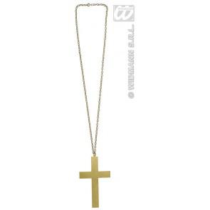 ketting kruis goud
