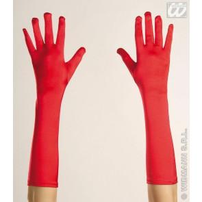 handschoenen spandex, rood