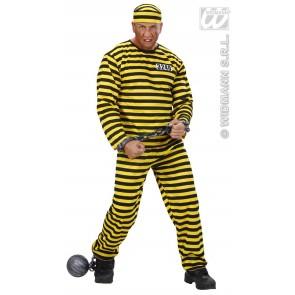 Boevenpak geel/zwart
