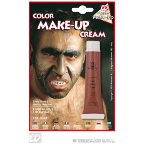 tube make-up, bruin