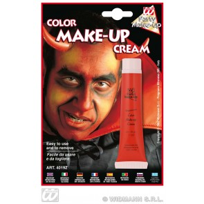 tube make-up, rood