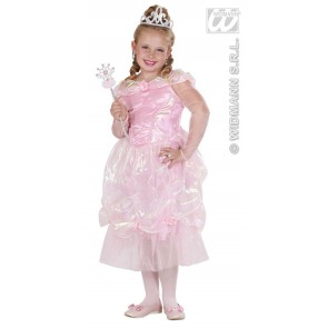 prinses rose 110 cm kind kostuum