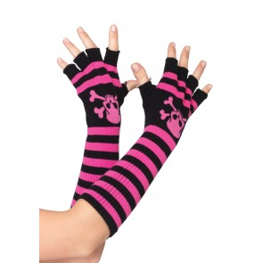 Acrylic Fingerless Gloves