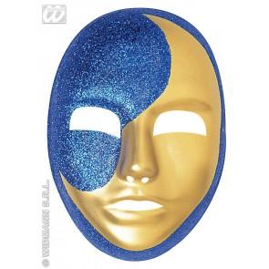 maanmasker pvc, glitter