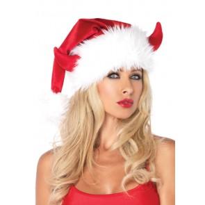 Devil Horn Santa Hat