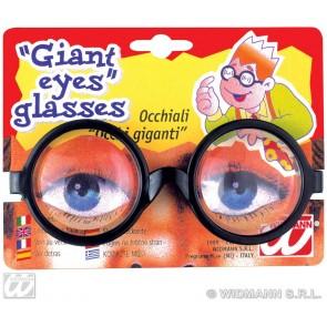 bril met grote ogen