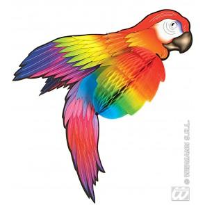 decoratie papegaai 76cm