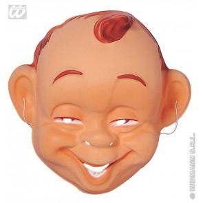 plastic masker lachende baby