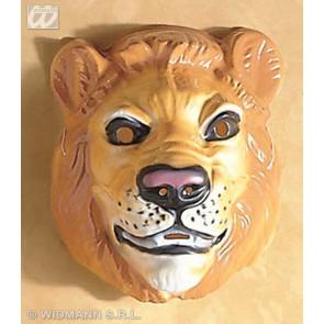 plastic masker, leeuw