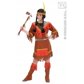Indiaans meisje kind kostuum