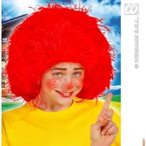 pruik, karakter kind, rood
