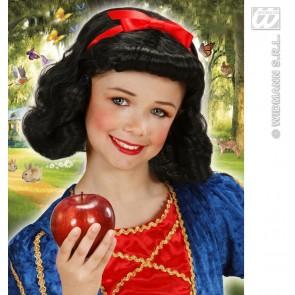 pruik, sprookjesprinses voor kind