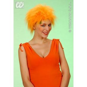 pruik, pluche oranje