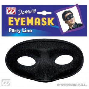 oogmasker maskerade, zwart