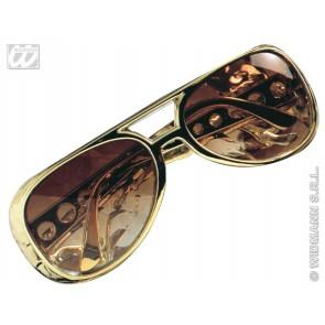 bril, rock n'roll goud