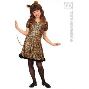 Luipaard kind kostuum