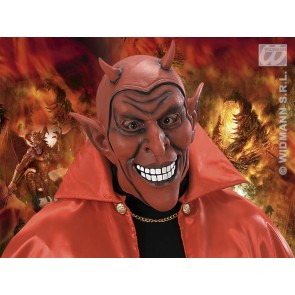 masker rode lachende duivel