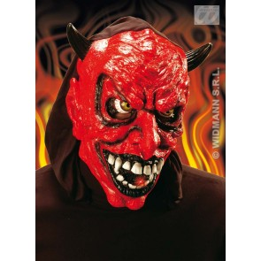 duivelsmasker met licht