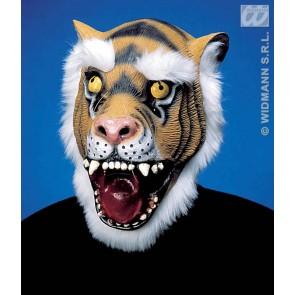tijger masker met haar