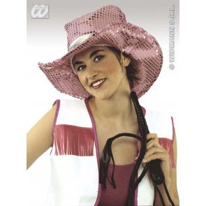 paillettenhoed cowgirl