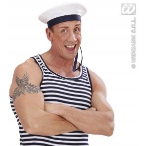 zeemanspet met lint