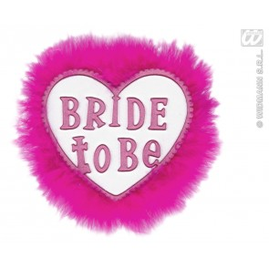 "broche wit ""bride to be"""