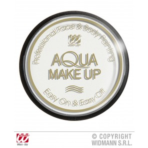 aqua make-up 15gr, wit