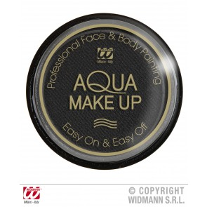 aqua make-up 15gr, zwart
